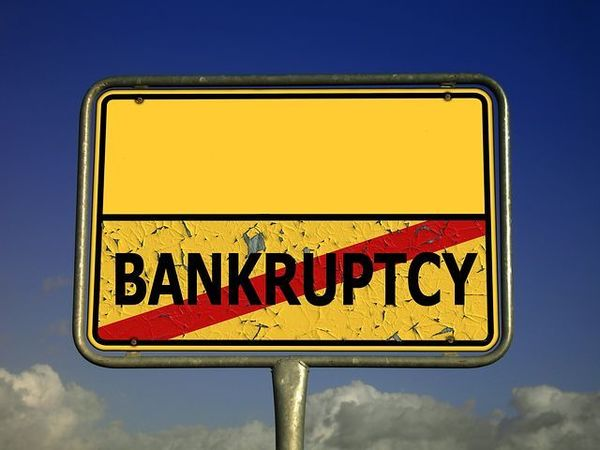 Large bankruptcy