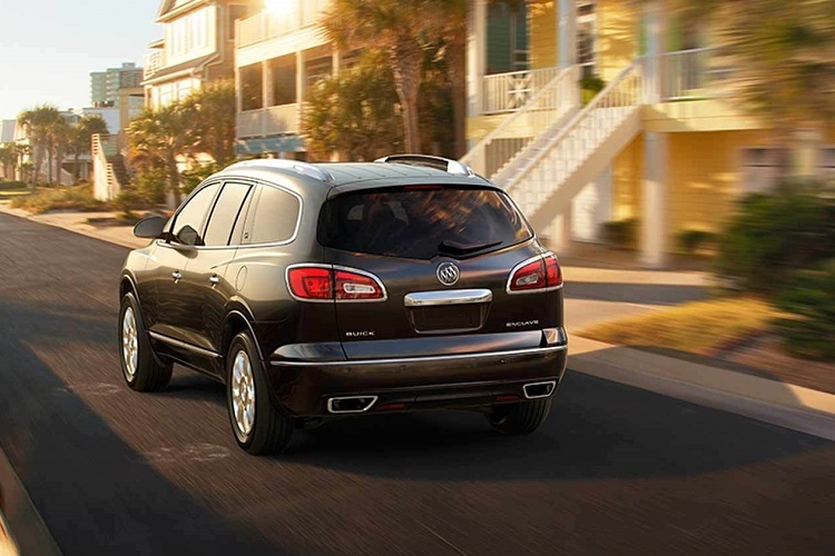 Every Enclave has a 3.6-liter V-6 engine with a 9-speed automatic transmission.