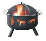 Landmann Big Sky Wildlife Fire Pit: $149.95