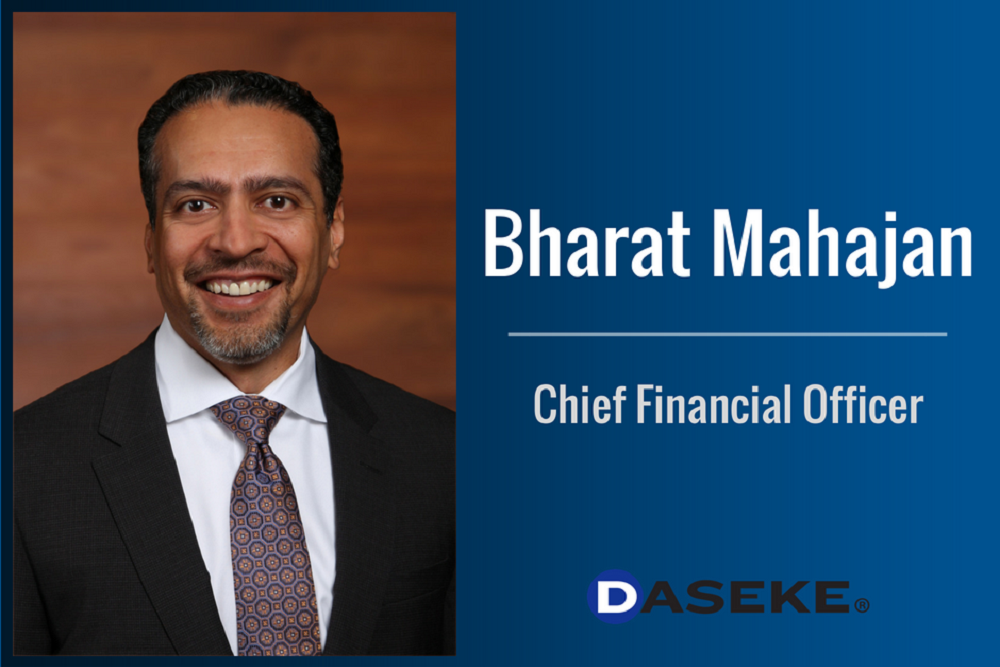 Bharat Mahajan names Chief Financial Officer