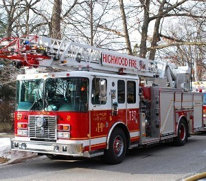 Medium highwoodfiredept truck
