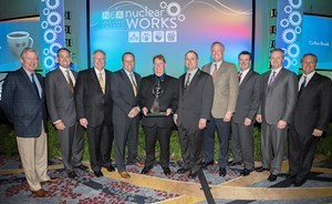 The team of Exelon employees who won the B. Ralph Sylvia Best of the Best Top Industry Practice Award