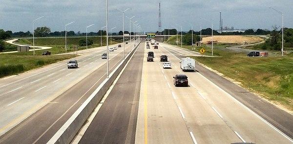 Large illinois tollway