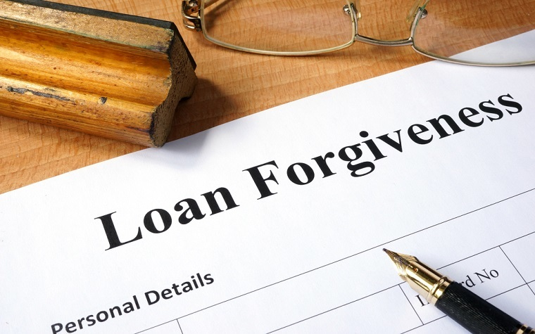 A discussion on loan forgiveness will take place at the Interim Study Committee meeting.
