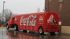 Large coke truck