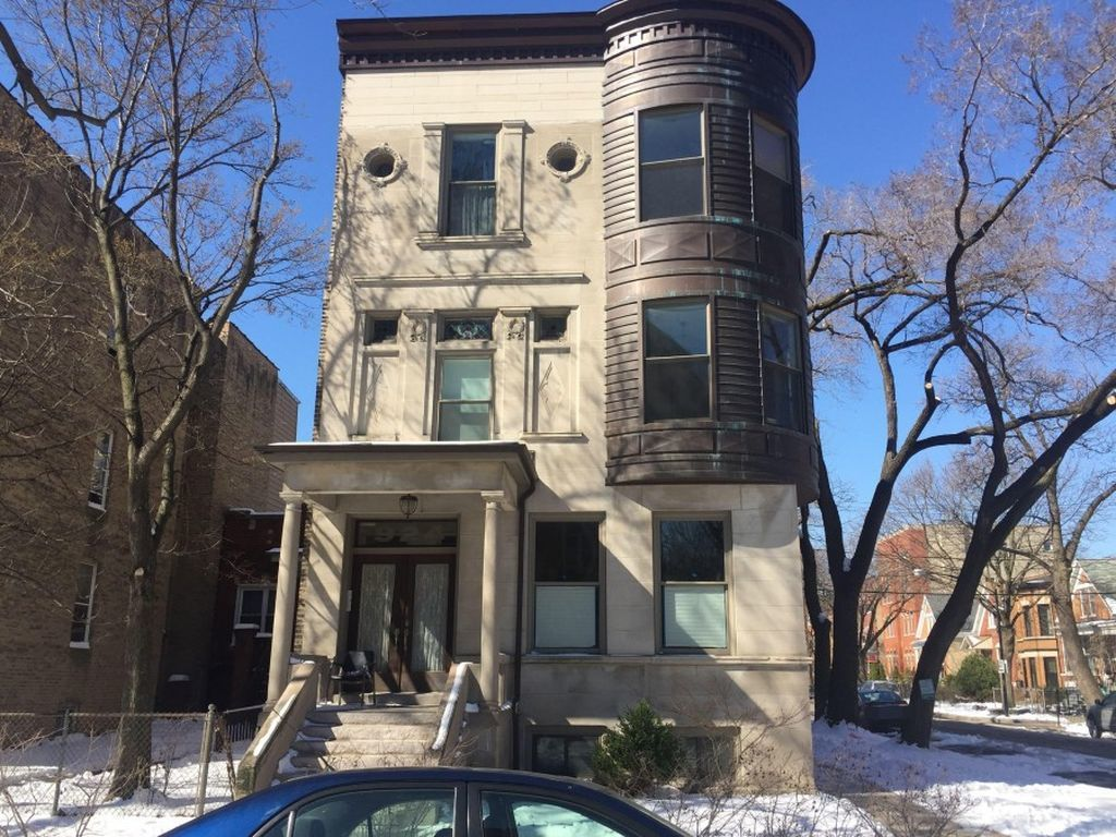 This forclosure, located at 924 N. Hoyne Ave in Ukrainian Village, currently priced at $28.1K, had a 2016 property tax bill of $3,984.