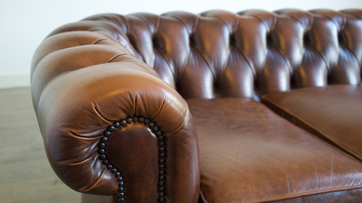 If well cared for, leather furniture can keep its finish for more than 20 years.