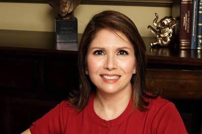 Sixth Congressional District candidate Evelyn Sanguinetti