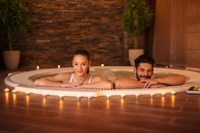 With a bit of maintenance, hot tubs can be a healthy home amenity available day or night.