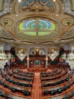 The Illinois House stands adjourned until April 4.