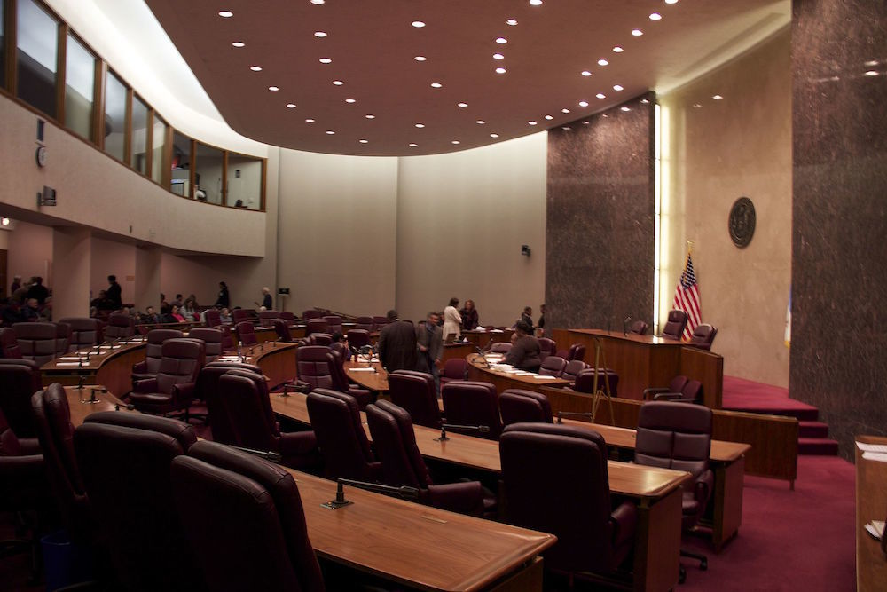 Chicago City Council Chambers