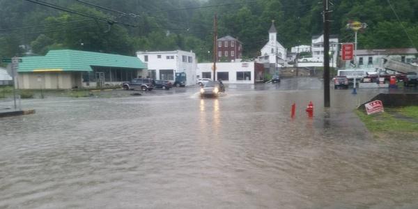 Large flooding