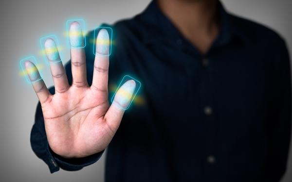 Large fingerprint scan