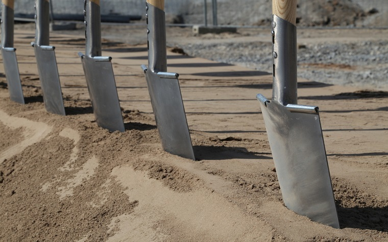 The South Park Community Garden groundbreaking will be held on October 8 at 8 a,m,