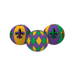 Mardi Gras Paper Lanterns are a striking way to decorate for a party