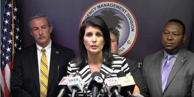 Gov. Nikki Haley press conference, 10/4/16