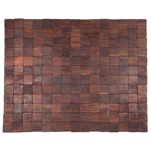 Mather Natural Wood Doormat