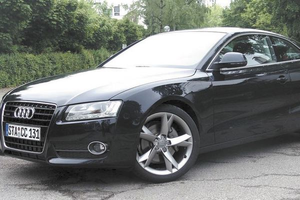 In North America, finding a diesel sporty car than can do 150 mph is rare. In Germany, however, this Audi A5 is built for high-speed cruising.