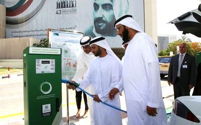Green Charger stations are helping Dubai reduce its carbon footprint.