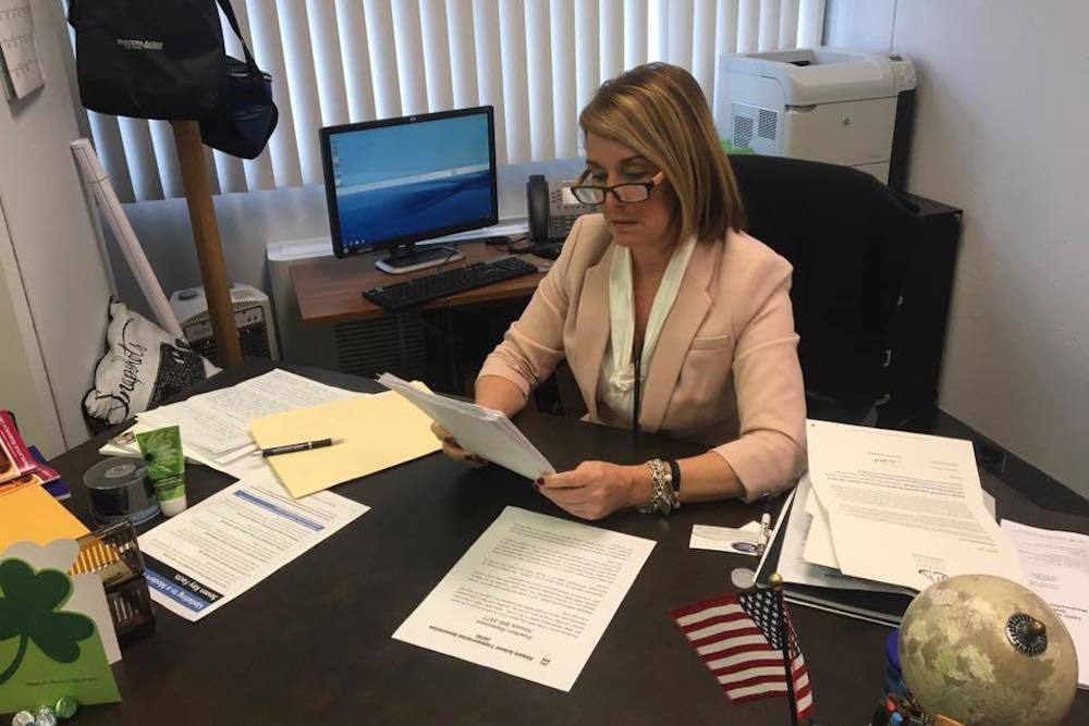 State Rep. Deb Conroy (D-Villa Park) voted Wednesday to shift money from suburban school districts to bail out Chicago Public Schools.