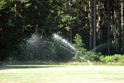 In drought-prone areas, special attention should be paid to avoiding water waste.