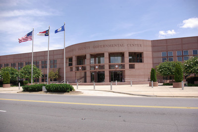 The Cabarrus County Government Center in Concord, N.C.