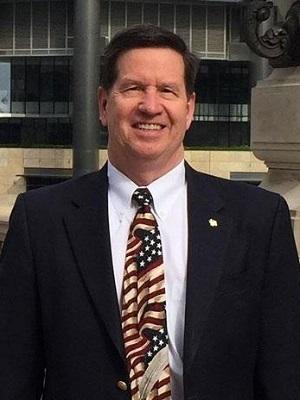 Republican Mickey Straub, Mayor of Burr Ridge