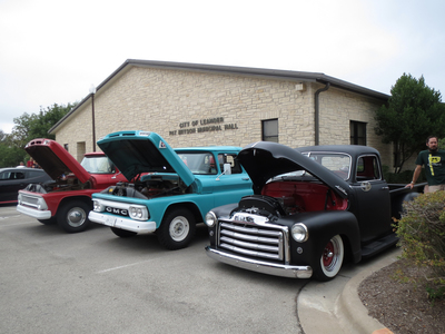 The Leander Car Show is a reliable place to find plenty of classic automobiles on display.