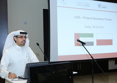 H.E. Hamad Buamim, president and CEO, Dubai Chamber of Commerce and Industry, called upon UAE and Polish businesses to explore new business opportunities and to further consolidate their bilateral ties made stronger over the years