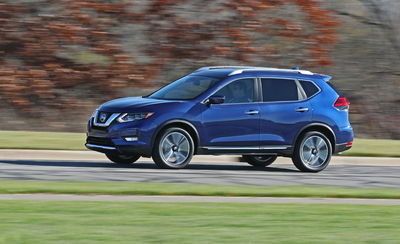 Nissan Rogue's powerful engine also enables you to drive as smoothly as possible.