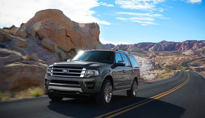 The Ford Expedition XLT EL gets an EPA-estimated 15 mpg in the city and 21 mpg on the highway.