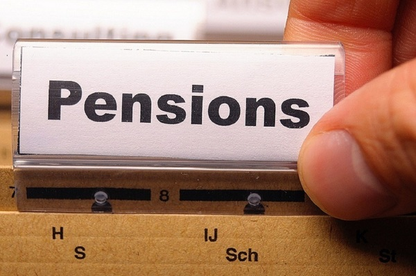 Large pensions