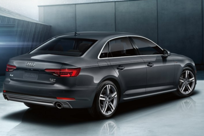 The sleek body of the Audi A4 is just a glimpse at the comfort and reliability that this car has to offer.