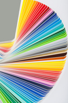 Color swatches, whether for fabric, paint or other decor, should be taken home and tested before committing.