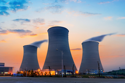 Nuclear power generated 3.6% of India's electricity in 2014-2015.