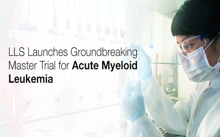 LLS targets acute myeloid leukemia in new collaborative clinical trial