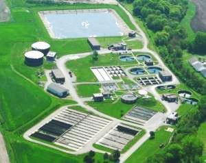 Medium wastewater plant main