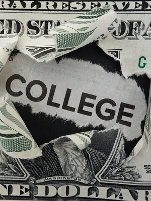 Large college tuition