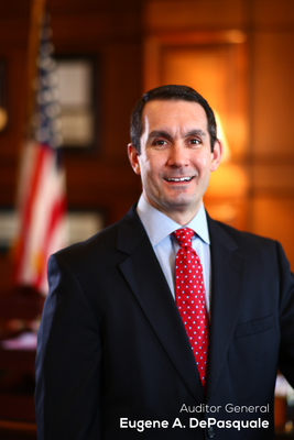 State Auditor General Eugene DePasquale is probing the City of Scranton's doubled pensions in 2002.