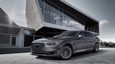 Sleek and aerodynamic define the Genesis.