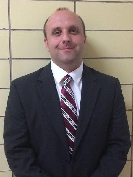 John Kimec, principal at St. Francis de Sales High School