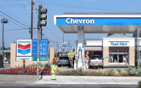 Large chevron corporation