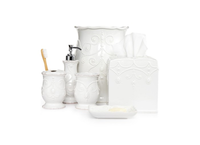 Lenox Bath Accessories, French Perle Collection
