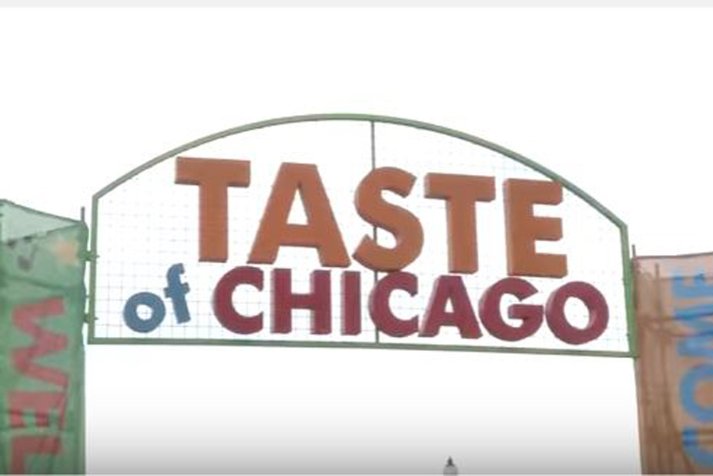 The Tastes of Chicago, which showcases the city's dining, has taken place during the summer season since 1980.