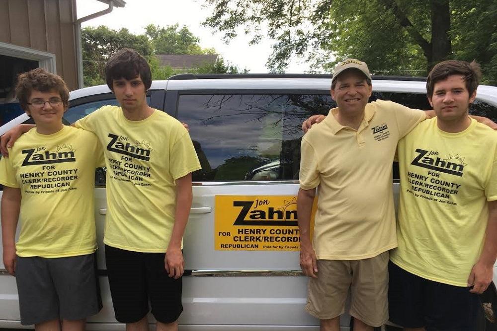Henry County Clerk/Recorder Candidate Jon Zahm
