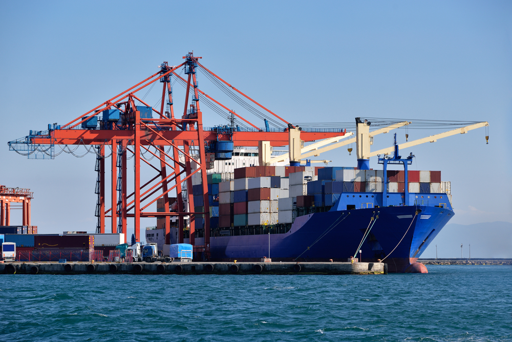 Fiscal year-to-date pier container volume is up 4 percent.