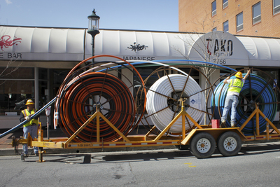 Austin is one of the communities that has Google Fiber available for Internet access.