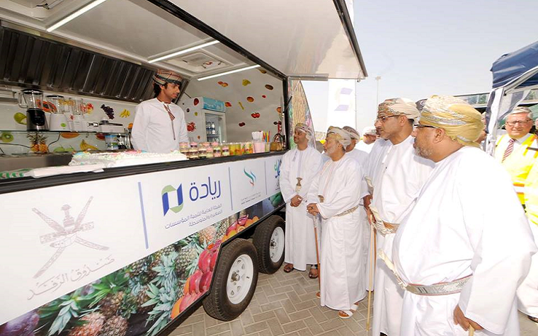 The Oman Ministry of Tourism is launching a mobile vehicle project.