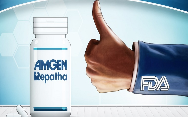 Repatha shows promise after third trial reveals positive results.