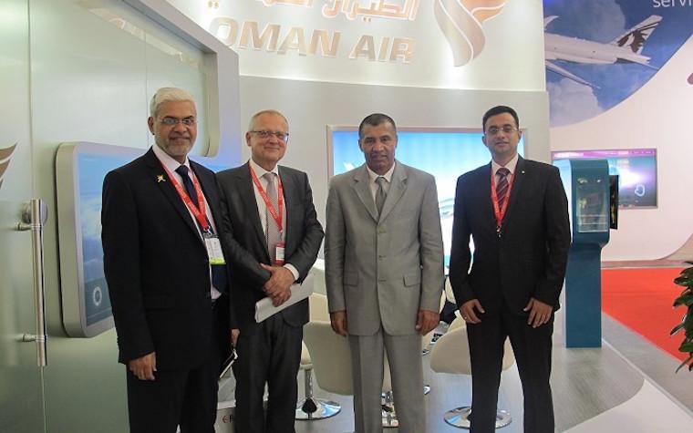 Oman Air secures new partnerships at Air Cargo China 2016